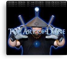The Art of DZINE Canvas Print