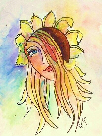 Sunflower by Robin Monroe