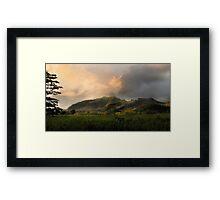 The Valley of Light Framed Print
