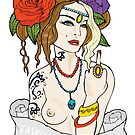 Tattoo Girl by doodlesbydanni
