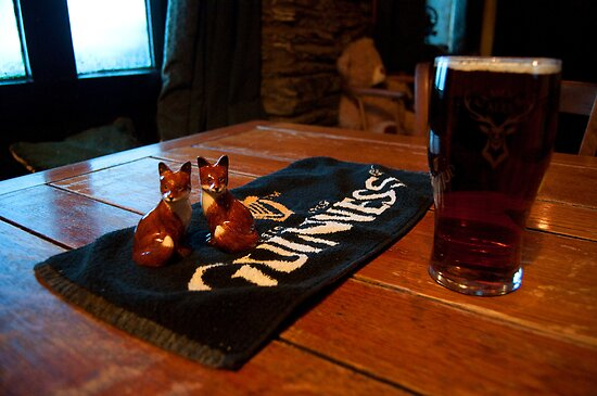 Foxy beer..! by Rob Hawkins