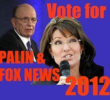 Palin/Fox News 2012 by redqueenself