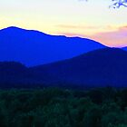 Mt. Washington as seen in different colors by Joe Bashour