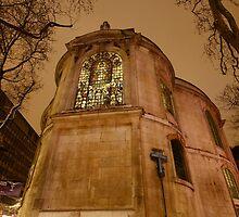 St Clement Dane Church by Timothy Adams