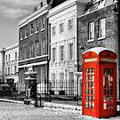 Red Telephone Box by Karen Martin IPA