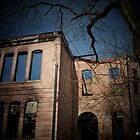 Foreboding - Sam Houston School in Marshall, Texas by Betty Northcutt