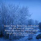 Good King Wenceslas  Christmas Card by sarnia2