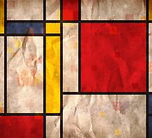 Mondrian Inspired by Michael Tompsett