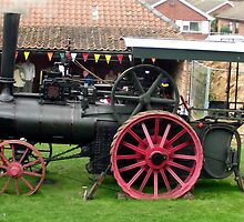 Traction Engine - Church Farm Museum, Skegness by Stephen Willmer