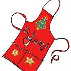 Holiday Apron by Betty Mackey