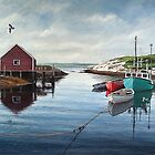 Tranquil Harbour by Frank Boudreau