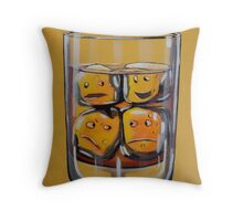 Emotional Coctail Throw Pillow