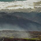 Sun valley and the old volcano by zdepe