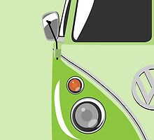 Camper Green by ArtPrints