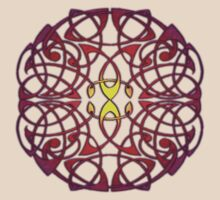 Celtic Sun Mandala Knot by IceFaerie