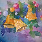 Christmas Bells after a Christmas Card by Pat Yager
