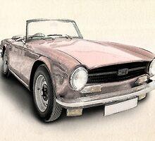Triumph TR6 by Michael Tompsett
