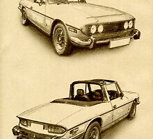 Triumph Stag by ArtPrints