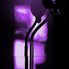 freakin in a purple haze... with a snake lamp by dedmanshootn