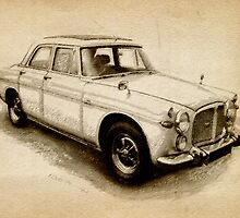 Rover P5 1968 by ArtPrints