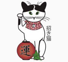 Maneki Neko (Japanese Lucky Cat) Peony Kids Clothes