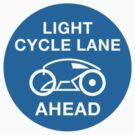 Lightcycle Lane Ahead by SevenHundred