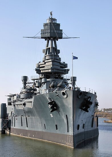 Battleship Texas by SuddenJim