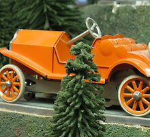 Antique slotcar by kevin seraphin