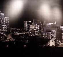 Greenville Skyline by Gordon Taylor