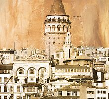 galata tower by emrefe