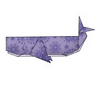 Origamiwhale by pixelvision
