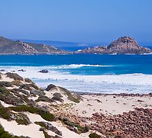 Sugarloaf Rock, Cape Leeuwin by Michelle  Wrighton