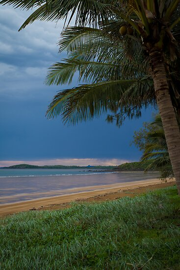 Sarina Beach # 1 by Rachael Lancaster