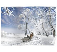Winter Day Poster