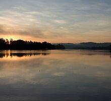 Tropical  Winter Dawn ~ Johnstone River Junction, Innisfail, FNQ.  by Kerryn Madsen-Pietsch