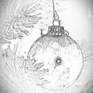 Christmas bulb by Theodore Black