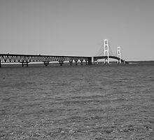 Mackinac Bridge by Frank Romeo