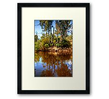 The Murray River & Young River Red Gums  Framed Print