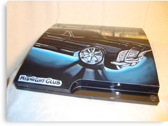 "PS3 ""MIDNIGHT CLUB"" 1 by Josue Martinez"