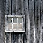Old Barn Window by Michael  Herrfurth