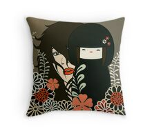Welcome to the Dollhouse Throw Pillow