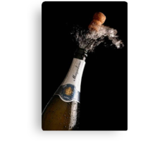 Opening Champagne Canvas Print