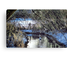 The Sound Of Silence Canvas Print