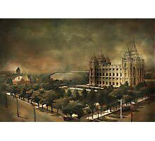 Salt Lake City Photographic Print