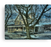 I'll be home for Christmas Canvas Print