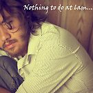 Nothing to do at 6am by Richard Olsen
