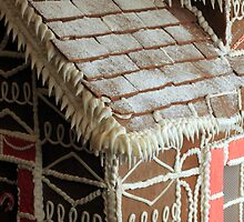 Large Ginger Bread House by Renee D. Miranda