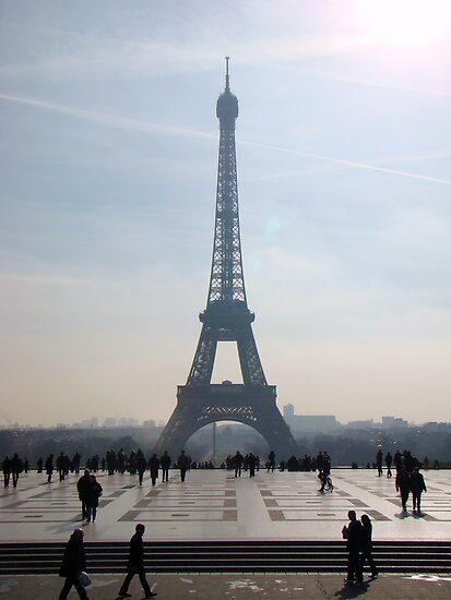 Towering Eiffel  by Al Bourassa