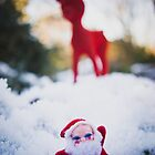Santa and Rudolf by beanphoto