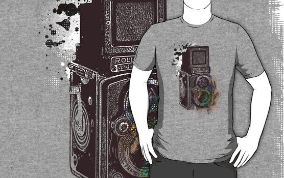 Photography Vintage Retro Rolleiflex by Denis Marsili - DDTK